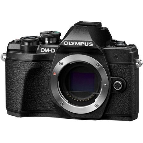 Фотоаппарат Olympus OM-D E-M10 Mark III body black