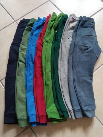 Spodnie dresowe 134 - 8par