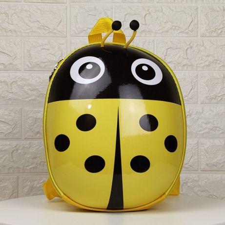 рюкзак детский EVA желтая божья коровка для девочки