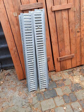 Pokrywa ocynk ruszt korytko betonowe odwodnienie liniowe A15