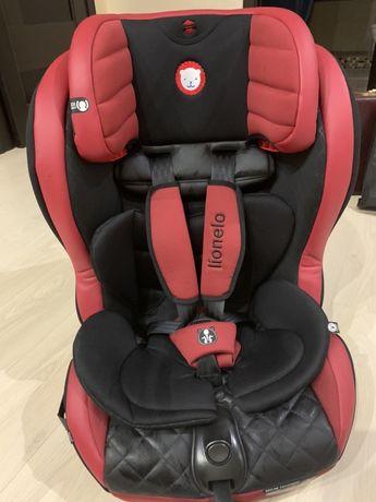 Детское автокресло Lionelo JASPER ISOFIX от 9 до 36 кг Серое (Кресло д