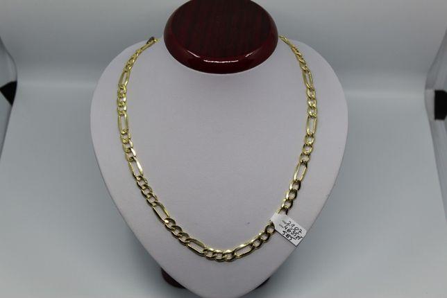 Złoto/Złoty łańcuszek męski 585 14K 21,07 gram Figaro Nowe Okazja