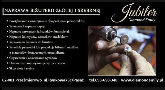 Naprawa biżuterii  łańcuszek złoto srebro  ZŁOTNIK JUBILER
