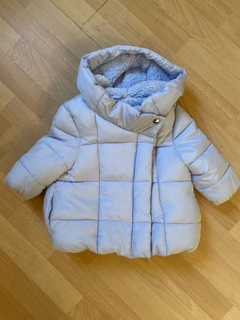 Нарядная зимняя куртка на девочку F&F Zara Next