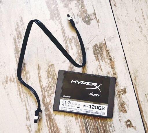 """SSD-накопитель Kingston HyperX Fury 120GB 2.5"""" Тайвань"""