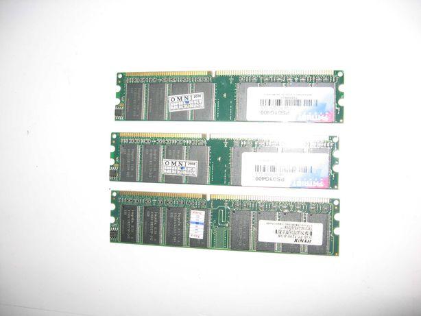 Оперативная память DDR 1Gb PC3200 CL3