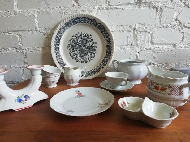 Stara porcelana,Chodzież,Włocławek,filiżanka,mlecznik,patera,świecznik