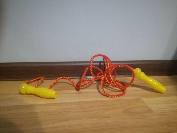 Skakanka dla dziecka ok.210cm sznurka do negocjacji