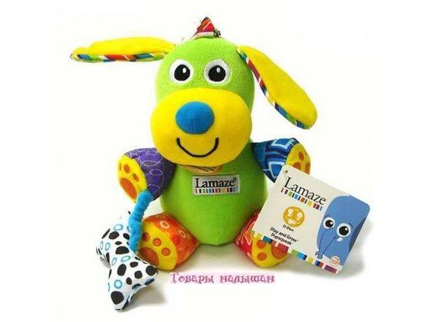 Развивающая игрушка для малышей Щенок с косточкой Tomy Lamaze