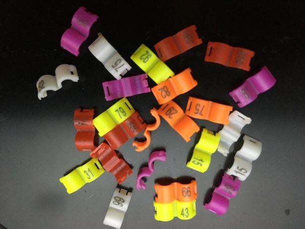 clipsy, znaczniki 3 mm w 5 kolorach