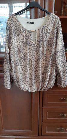 Elegancka bluzka w panterkę rozmiar uniwers. TYLKO 30zł