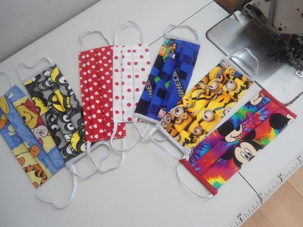 maseczki ochronne- bawełniane dla dorosłych i dzieci