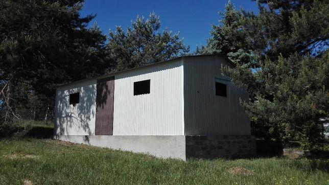garaże blaszane, garaż blaszany 4 x 7dwuspadowy/wzmocniony/wiaty/hale