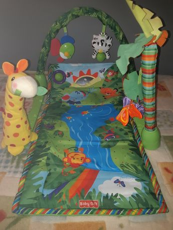 Развивающий игровой коврик +мобиль на кроватку