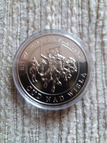 Moneta medal Cud nad Wislo Bardzo ladna