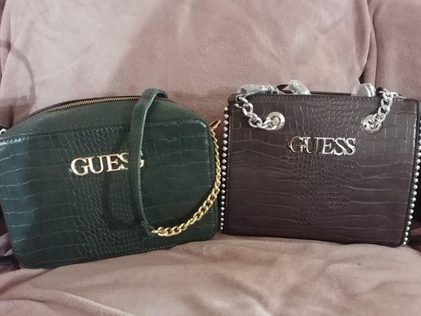Torebki Guess, szara, zielona, czarna piękne kolory PROMOCJA
