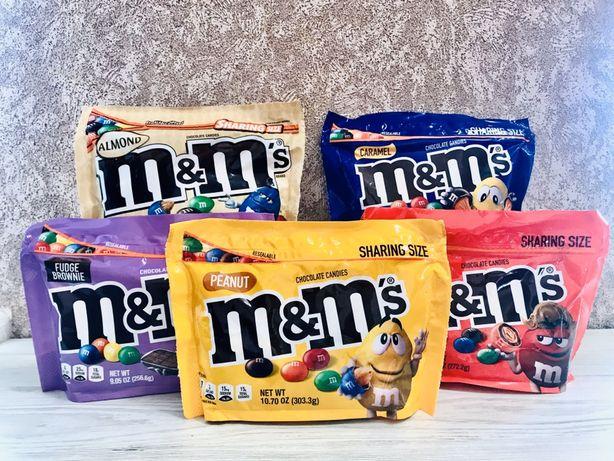 Конфеты драже M&ms USA цукерки M&ms оригінал із США