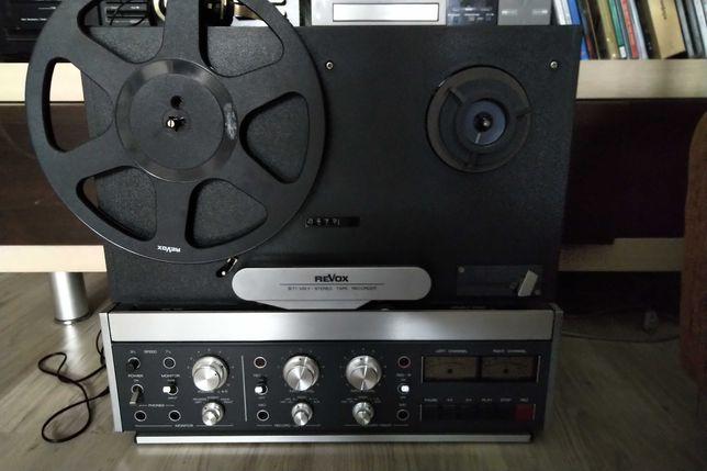 Бобинный  катушечный магнитофон revox b77 reel to reel