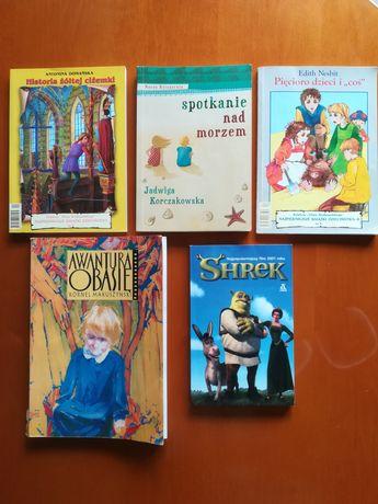 Komplet książek dla dzieci