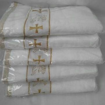 Крыжма для крещения/крижма для хрещения,махра для крестин.В центре