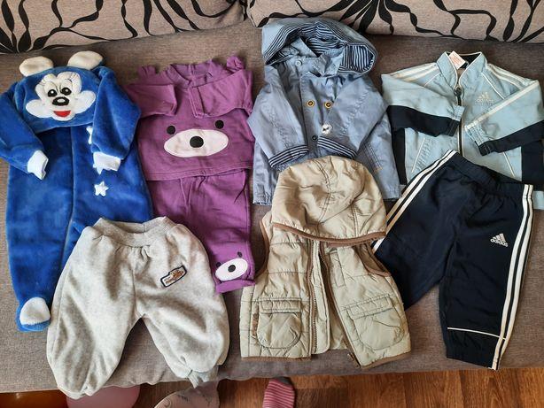 Пакет брендовых детских вещей. Спортивный костюм. Жилетка. 3-6месяцев.