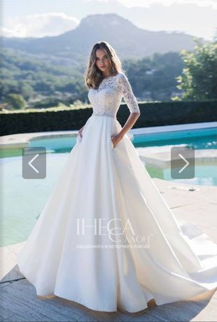 Продам свадебное платье итальянского бренда Nora Naviano.
