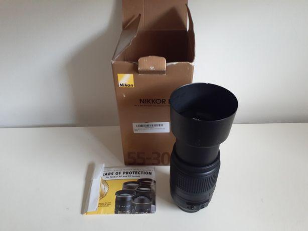 Lente Nikon Nikkor 55 - 300mm AF-S DX ED VR #