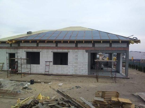 Budowa domu, fundamenty, ściany, stropy