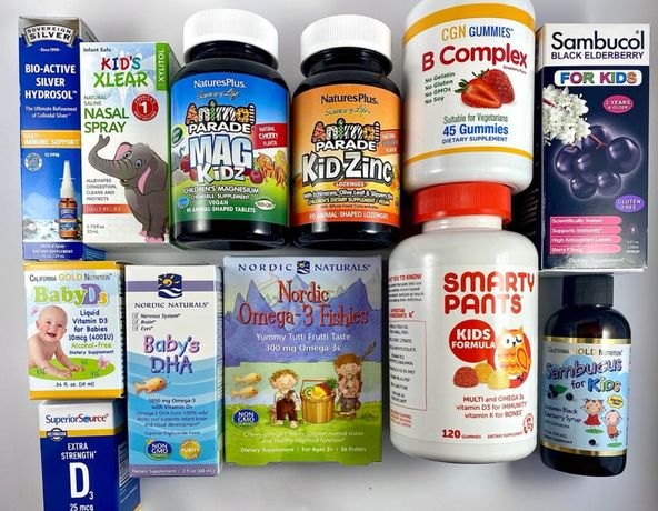 Smarty Pants Витамины для детей бузина