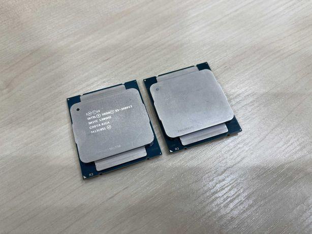 Процессоры (пара) Intel Xeon E5-2609v3 (6 ядер, 6 потоков, 15Мб)