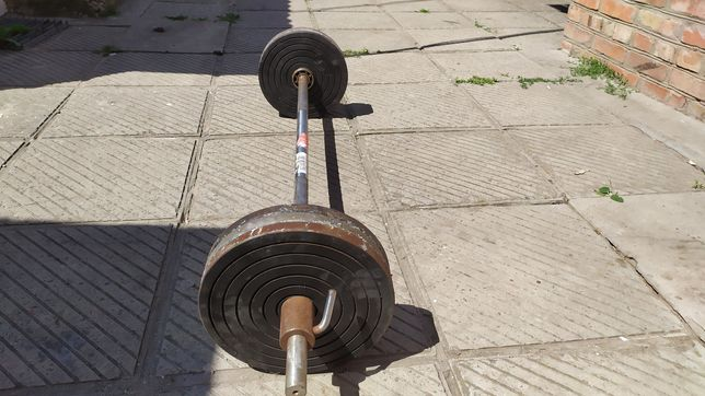 Штанга 100кг метал