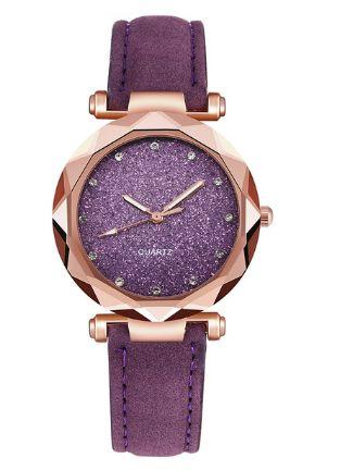 damski zegarek Nowy + GRATIS Fioletowy brokatowy odbiór lub wysyłka