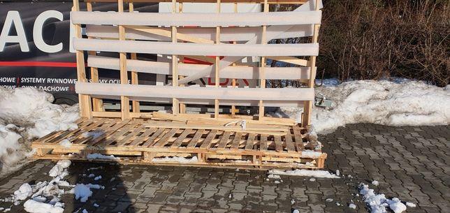 Stojaki drewniane
