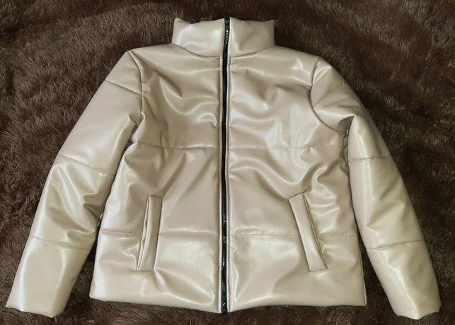 Куртка эко кожа размер хххл