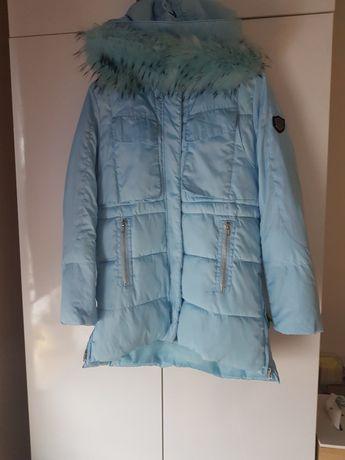 Płaszcz/ kurtka puchowy rozmiar M