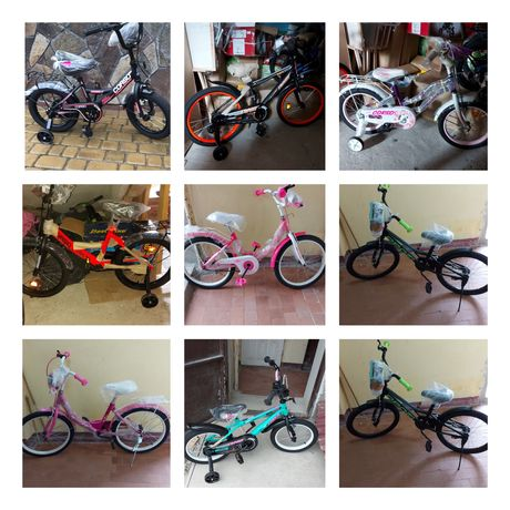 Велосипеди дитячі велосипеди ровер вилосипед продам велосипед