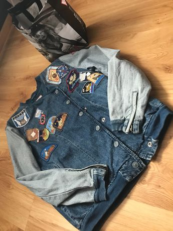 Guess kurtka katana jeans jeansowa