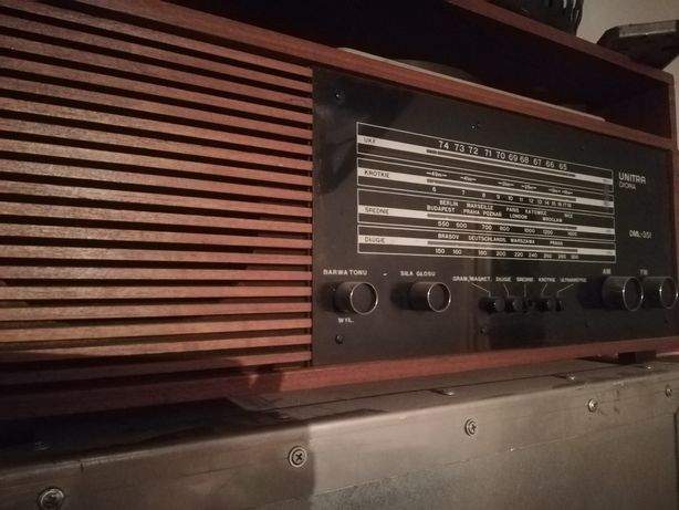 Radio PRL unitra diora