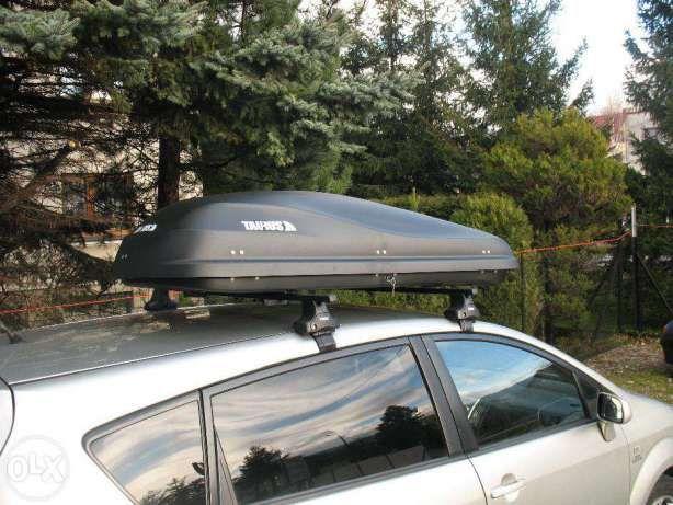 Box Samochodowy, Bagażnik Dachowy ALTRO 460 Carbon 2-stronne ! Bielsko