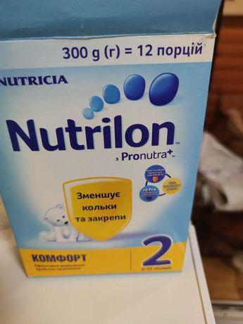 Смесь Nutrilon комфорт 2