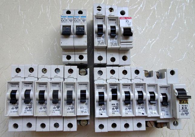 Wyłącznik, wyłacznki nadprądowę Siemens i inne