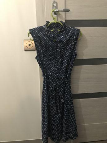 Sukienka w kropki rozmiar 36