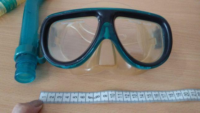 Трубка маска для плавания подводного