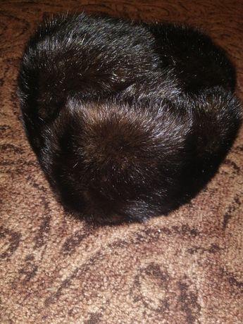 Продам шапку-обманку, натуральный мех (норка)