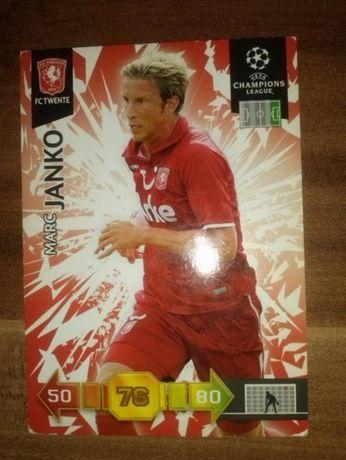 FC TWENTE Marc Janko karta kolekcjonerska Panini Champion League 10/11