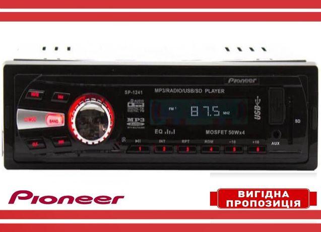 Магнитола для автомобиля Pioneer 6240 Качественная Автомагнитола Пионе