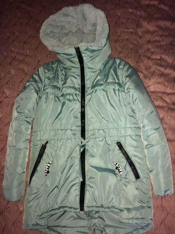 Курточка зимова для дівчаток