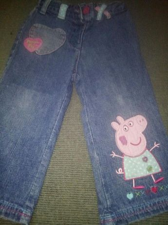 Продам джинсики с пеппой