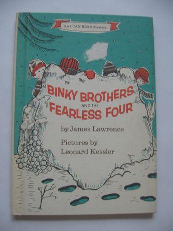 Binky Brothers and the Fearless Four. Książka dla dzieci w j.ang.
