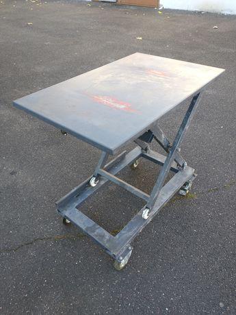 Stół warsztatowy regulowany nożycowy podnoszący 95,5x61,5